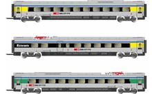 SBB 3-UNIT ETR 610 INTER COACHES CISALPINO (5/21) *