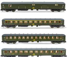 RENFE 4-UNIT PACK DD 8100 LUGGAGE GREEN IV (2/21) *