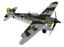 FLUGZ.BF 109 GALLAND