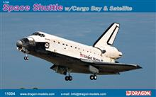 SPACE SHUTTLE W/CARGO BAY SATELLITE