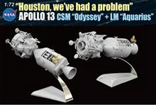 1/72 APOLLO 13 CSM & LM HOUSTON, A PROBLEM (5/20) *