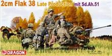 1/35 2CM FLAK 38 LATE RPODUCTION MIT SD.AH.51