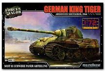 TIGER KING GERMAN ARDENNES 1944 1:72