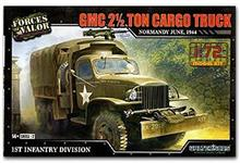 GMC 2.5 TON CARGO TRUCK NORMANDY 1944 1:72