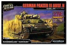 GERMAN PANZER III AUSF. N NORWAY 1945 1:72