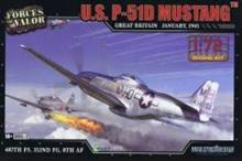 P-51D MUSTANG U.S. GREAT BRITAIN 1945 1:72