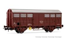 SNCF CLOSED WAGON TYPE G41 CATTLE TRANS. OXID RED IV-V