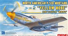 NORTH AMERICAN P-51D MUSTANG YELLOW NOSE 1:48