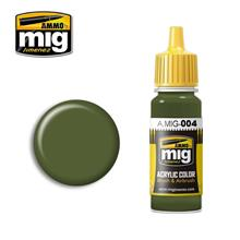 B RESEDA GREEN RAL 6011 (17 ML)