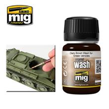 DARK BROWN WASH F. GREEN Vehicles 35 ML (35 ML)