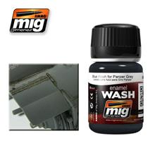 BLUE WASH FOR PANZER GREY 35 ML (35 ML)