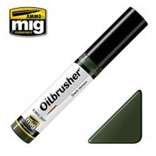 OILBRUSHERS DARK GREEN