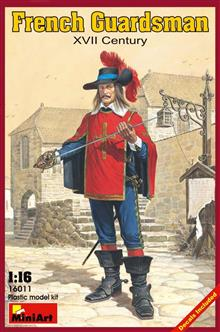 FRENCH GUARDSMAN. XVII C.