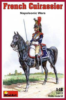 FRENCH CUIRASSIER. NAPOLEONIC WARS.