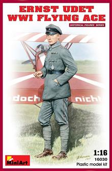ERNST UDET. WW1 FLYING ACE