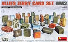 1/35 ALLIES JERRY CANS SET WWII