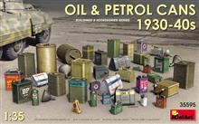 1/35 OIL & PETROL CANS 1930-40S