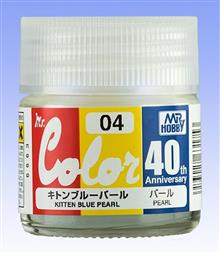 MR. COLOR 10 ML 40TH ANV. KITTEN BLUE PEARL