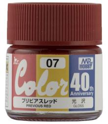 MR. COLOR 10 ML  ANV. PREVIOUS RED
