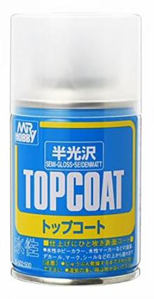 MR. TOP COAT SEMI-GLOSS SPRAY 86 ML