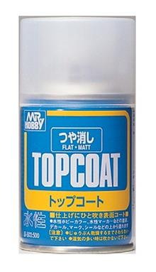 MR. TOP COAT FLAT SPRAY 86 ML