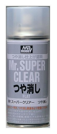 MR. SUPER CLEAR FLAT SPRAY 170 ML