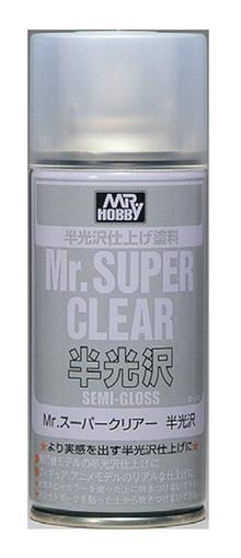 MR. SUPER CLEAR SEMI-GLOSS SPRAY 170 ML