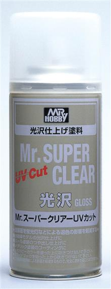 MR. SUPER CLEAR UV CUT GLOSS SPRAY 170 ML