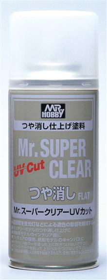 MR. SUPER CLEAR UV CUT FLAT SPRAY 170 ML