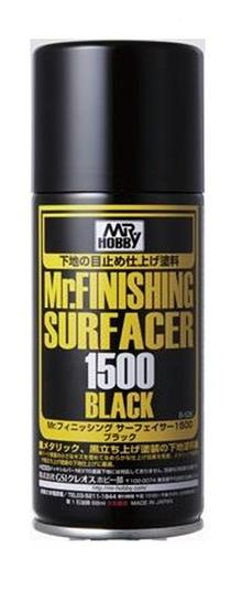 MR. FINISHING SURFACER 1500 BLACK 170 ML