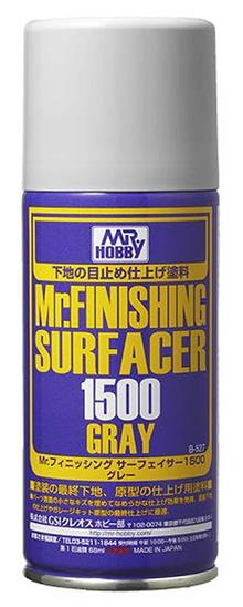 MR. FINISHING SURFACER 1500 GRAY 170 ML