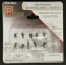 1/144 MODERNE US-ARMY, IN NATO UNIFORM, BEMALT
