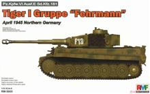 1/35 TIGER I GRUPPE FEHRMANN 1945 NORTHERN GERMANY