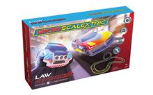 MICRO SCALEXTRIC LAW ENFORCER RACE SET (6/20) *