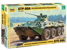 BTR-80A RUSSIAN PERSONNEL CARRIER 1:35