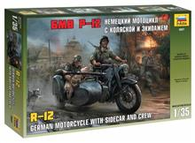 1/35 GERMAN WWII SIDECAR R12 WITH CREW