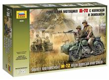 1/35 SOVIET WWII MOTORCYCLE M-72