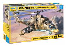 1/48 MIL MI-24P RUSSIAN ATTACK HELICOPTER (4/21) *