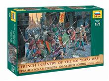 1/72 FRENCH INF. 100 YEARS WAR